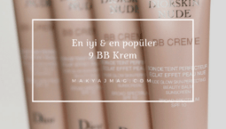 En İyi & En Popüler 9 BB Krem — 2017