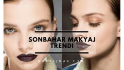 Sonbahar Makyaj Trendleri — 2017