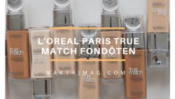 L'oreal Paris True Match Fondöten