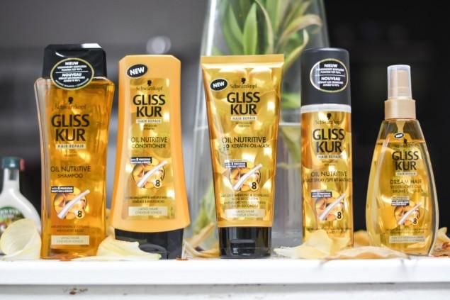 Schwarzkopf Gliss Oil Nutritive — Kolay Kırılan Uzun Saçlar Serisi