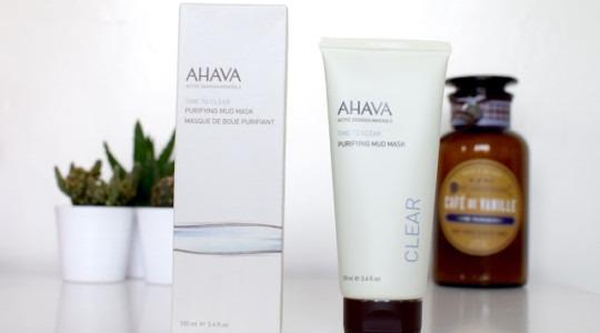 AHAVA Arındırıcı Çamur Maskesi — AHAVA Purifying Mud Mask