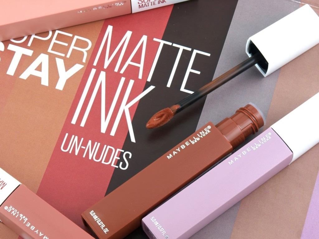 Maybelline Superstay Matte Ink Likit Ruj Un Nudes Makyaj Mag