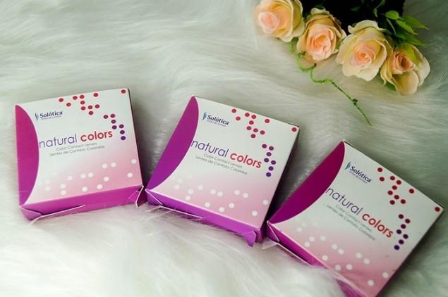 Solotica Natural Colors — Cristal, Ambar, Avela, Quartzo, Topazio