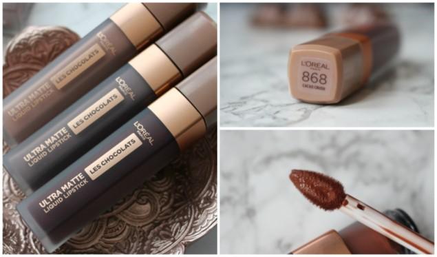 Loreal Les Chocolats Ultra Matte Likit Ruj Makyaj Mag