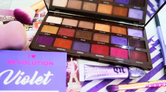 I Heart Revolution Violet Chocolate Far Paleti