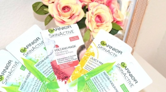 Garnier Skin Active Maskeler