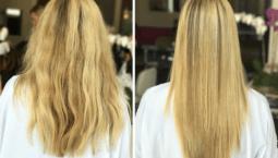 Keratin Bakımı — Saç Botoksu