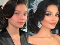 13 Gelin Makyajı Öncesi & Sonrası