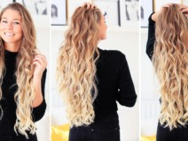 Isı Kullanmadan Saçlarınızı Kıvırcık Yapmanın 9 Yolu — Doğal Kıvırcık Saç