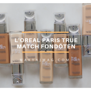 L'oreal Paris True Match Fondöten