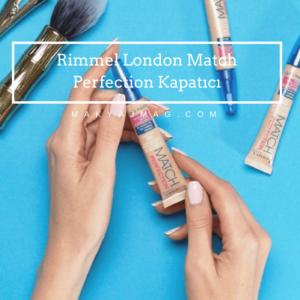 Rimmel London Match Perfection Kapatıcı — Concealer